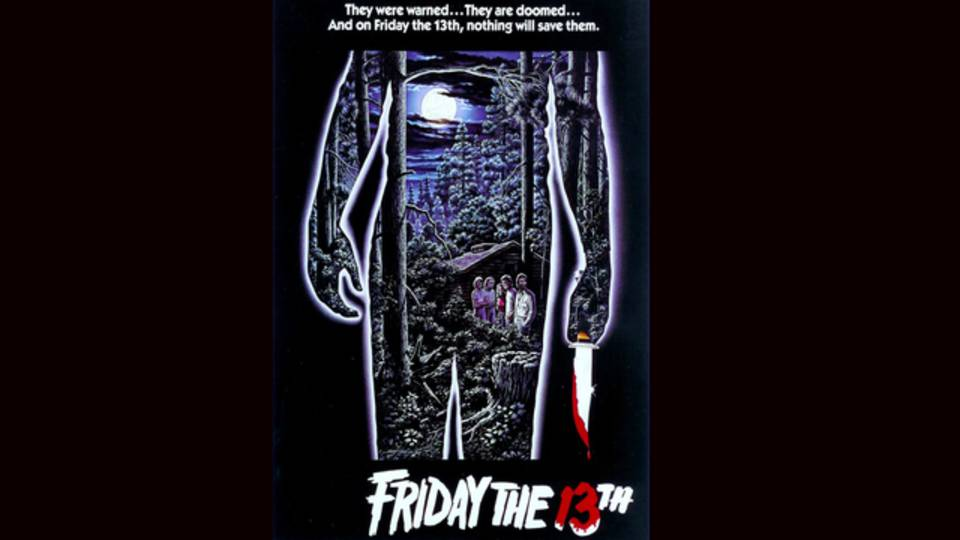 Friday the 13th 1980 movie poster