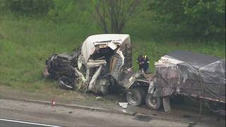 I-10 East near Luling closed due to big rig crash, DPS says