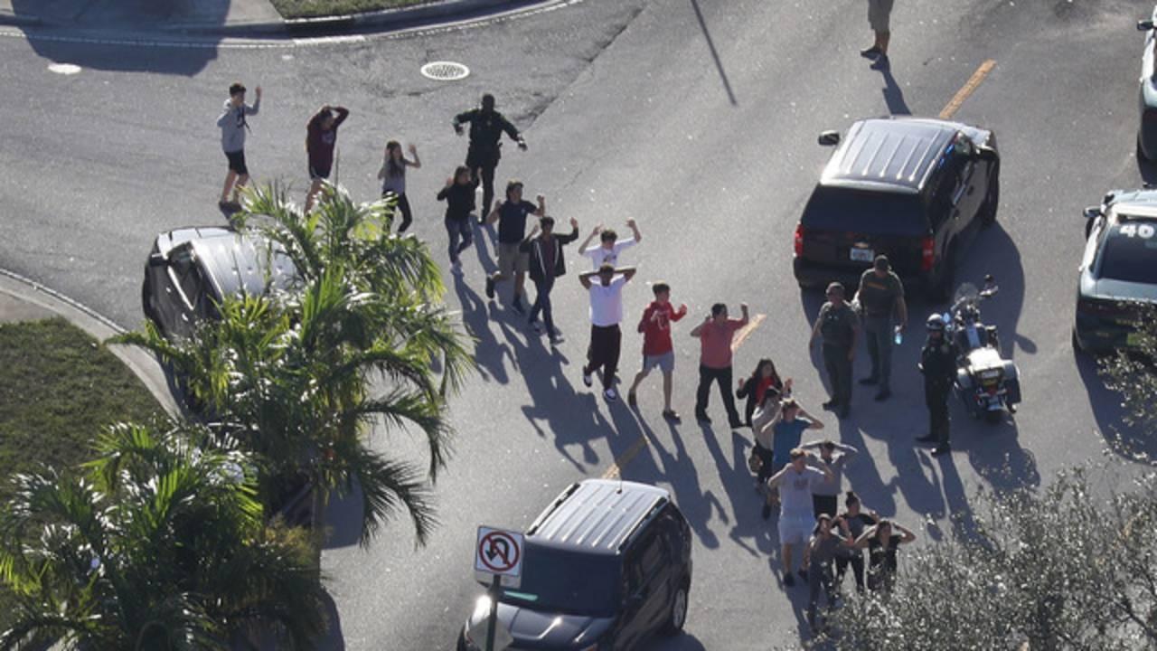 Parkland, Florida, school shooting, Marjory Stoneman Douglas High School69400456-75042528