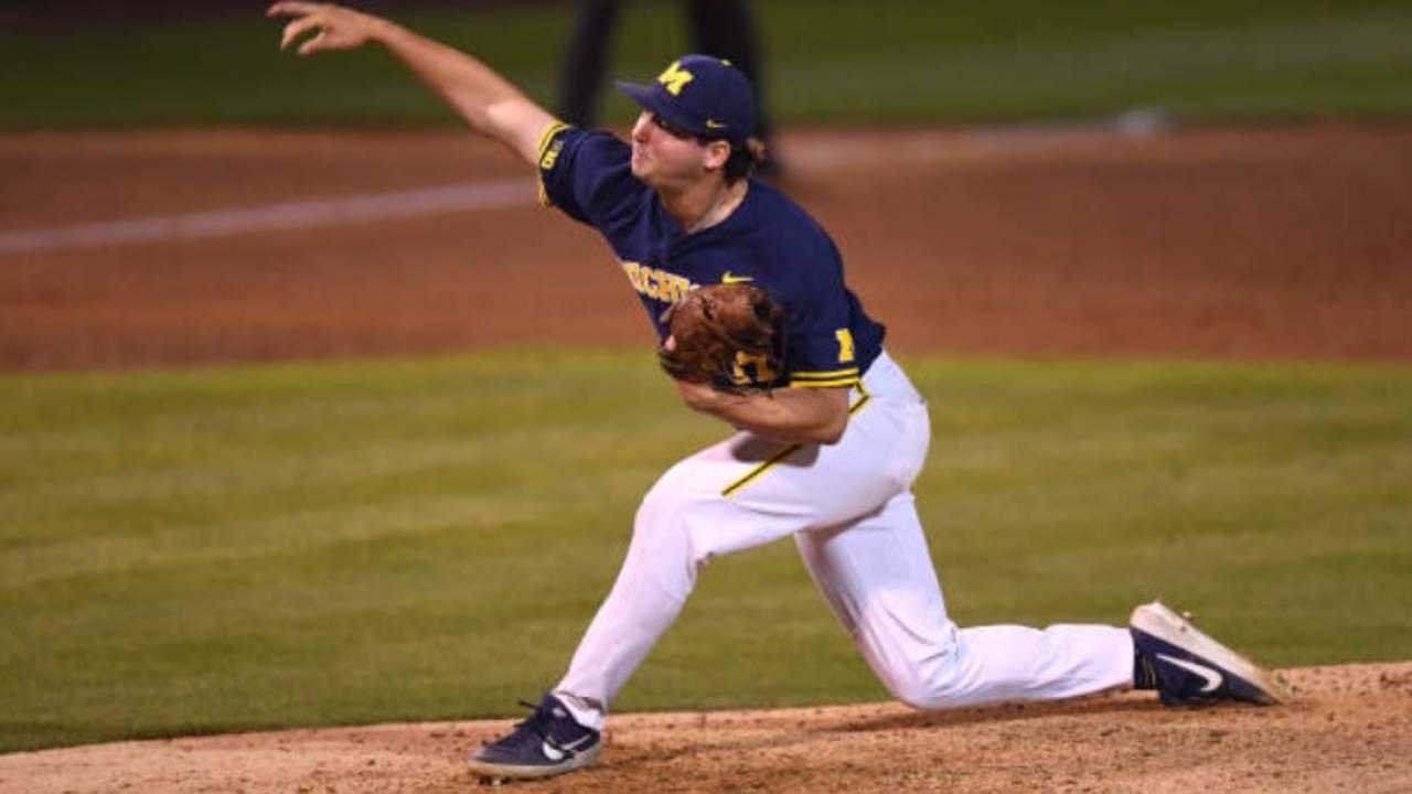 Jeff Criswell Michigan baseball vs UCLA 2019 NCAA Tournament