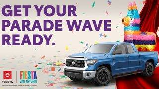 Win a ride on the Toyota float in Fiesta Flambeau&reg&#x3b;, plus four VIP&hellip&#x3b;