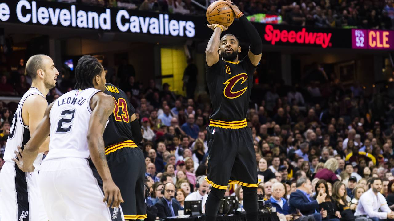d6e760aace6 Spurs made trade offer to Cavs for Kyrie Irving
