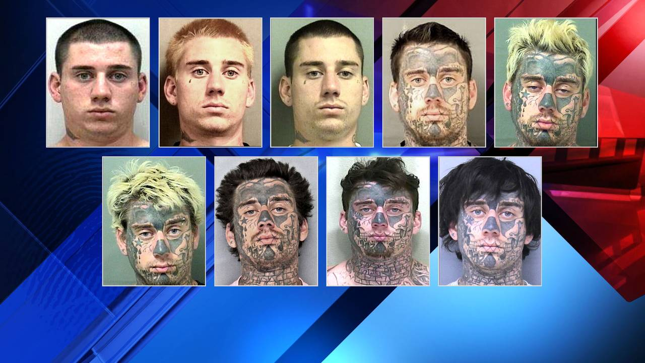 Florida man's mugshots tell a story of their own
