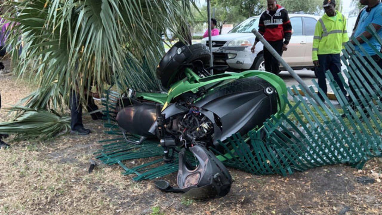 Lauderdale Lakes ATV crash