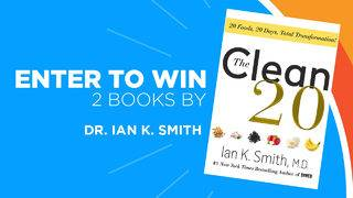 Win 2 books by New York Times best-selling author Dr. Ian K. Smith