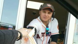 World Series Champion Astros work drive-through, counter at local Whataburger