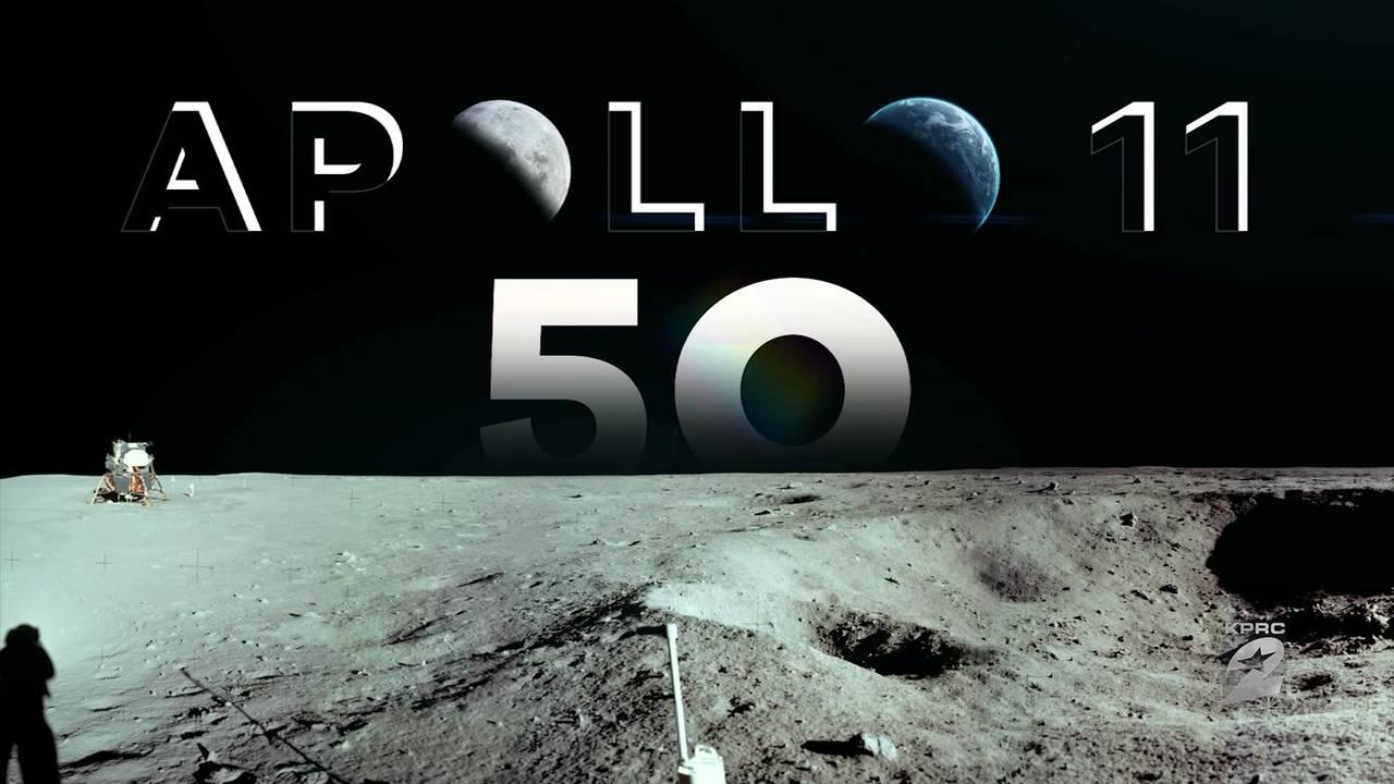 Apollo 11 50th anniversary moon pic
