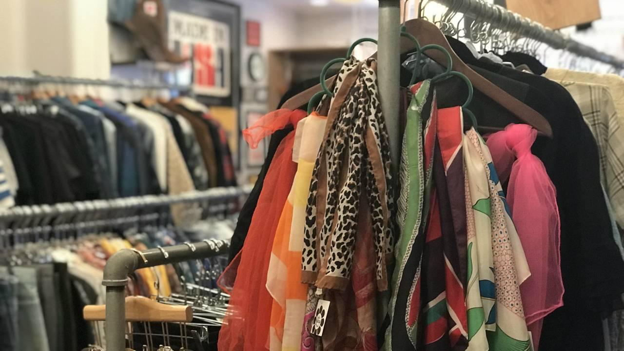 The Getup Vintage scarves