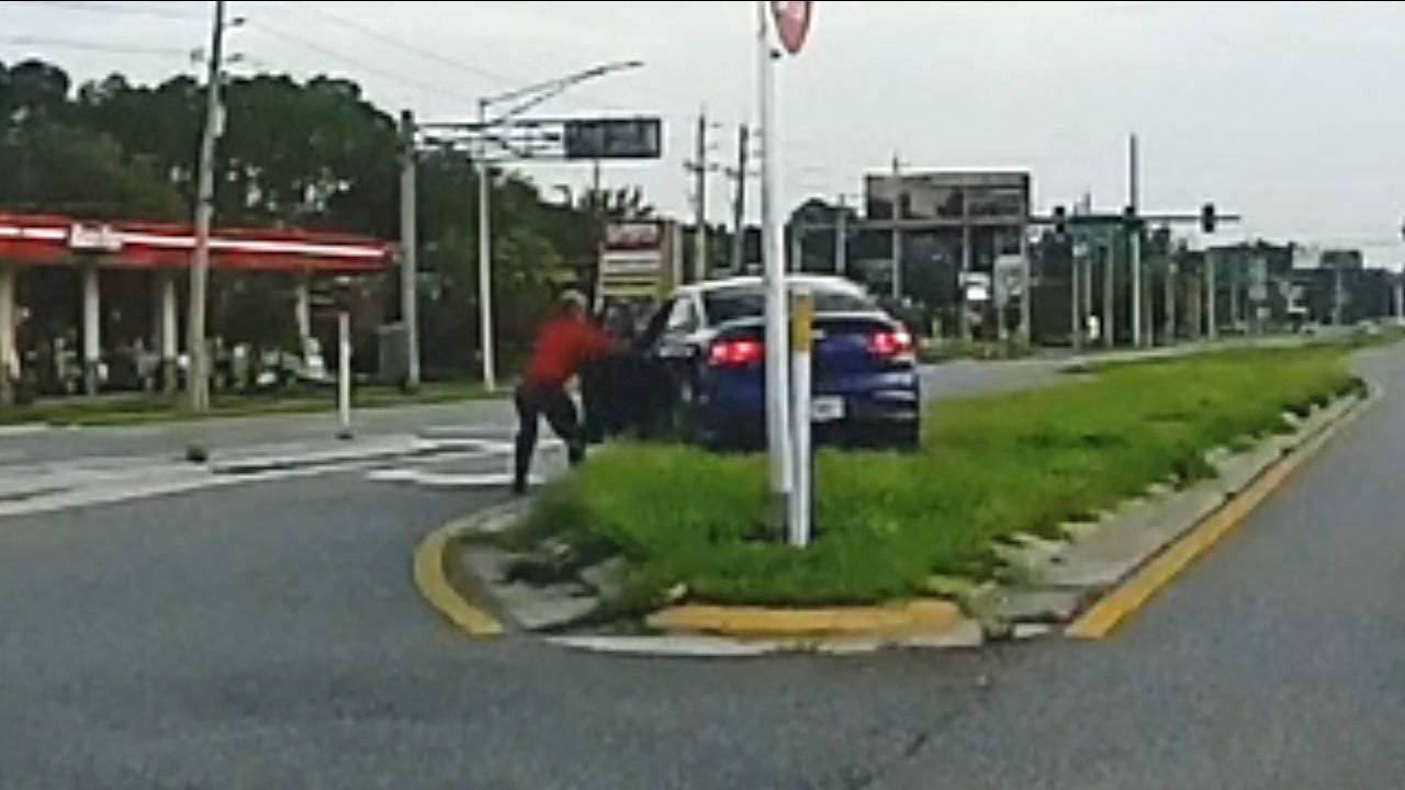 Dashcam footage provided by David Levin 2