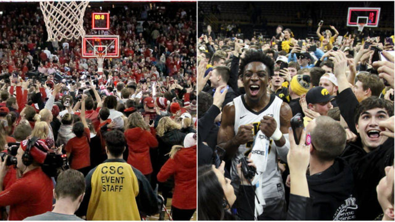 Wisconsin and Iowa court storms wins over Michigan