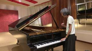 Visually impaired woman tunes pianos in Cuba