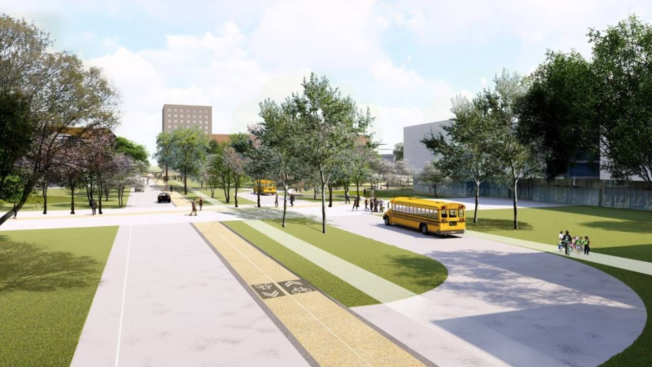 Detroit Square renderings 2