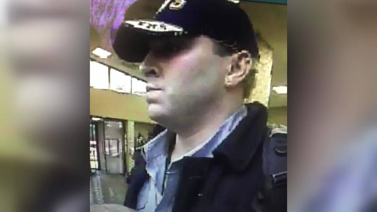 livingston bank robbery suspect surveillance image
