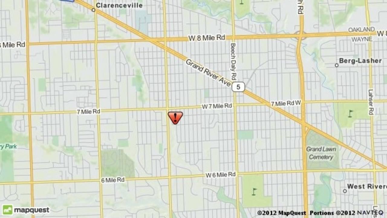 Suspicious man Redford Township map_17987212