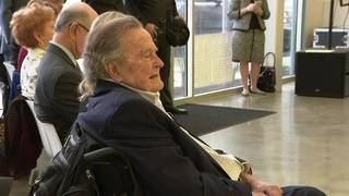 'Thank you all:' George H.W. Bush tweets message of gratitude to Houston