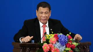 Philippines' Duterte signals closer ties with China