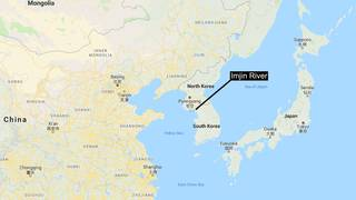 Mysterious heat spot in Korean border river turns out to be... on swaziland map google, trinidad and tobago map google, cook islands map google, guyana map google, papua new guinea map google, uzbekistan map google, nauru map google, congo map google, belarus map google, austell ga map google, euphrates river map google, cotswolds map google, hungary map google, harrogate tn map google, anguilla map google, georgia map google, maldives islands map google, monaco map google, parris island map google, bermuda map google,