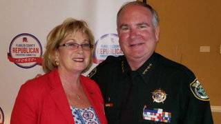 Flagler County sheriff saves woman with Heimlich maneuver