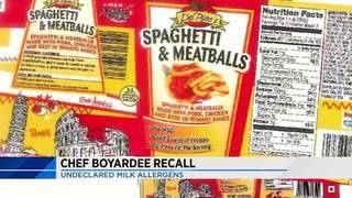 Chef Boyardee recalls more than 700,000 pounds of food