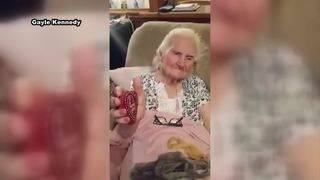 Painted rocks make their way across the country to 94-year-old grandma&hellip&#x3b;