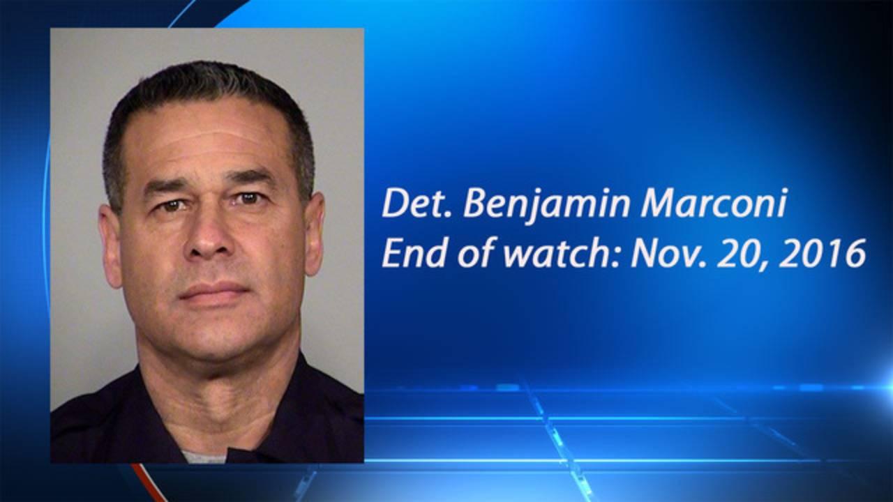 benjamin marconi officer killed