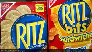 Several types of Ritz crackers recalled due to Salmonella concerns