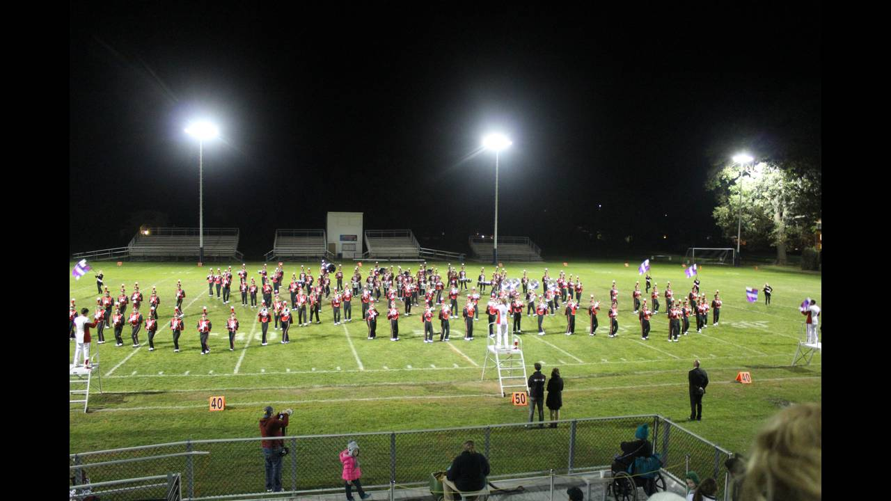 St. Johns Marching Band 2016