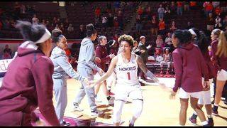 JUCO transfer Taylor Emery finding her role with Virginia Tech