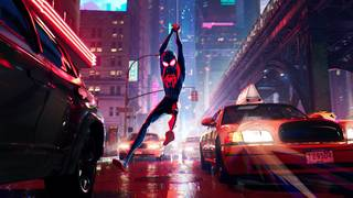Spider-Verse' swings to the top