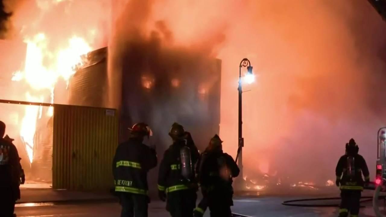 southwest detroit fire