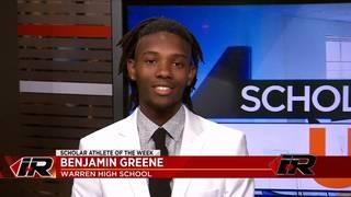 Scholar Athlete: Benjamin Greene, Warren High School