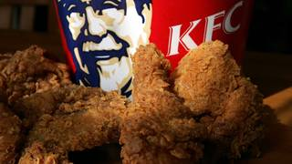 KFC is running out of chicken across the U K