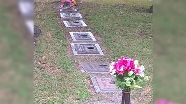 Thieves Steal Bronze Vases From East Side Cemetery