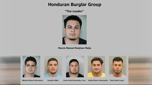 6 illegal immigrants in Honduran burglary ring arrested in Fort Bend County
