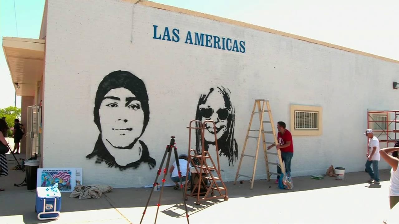 Joaquin Oliver mural in El Paso, Texas