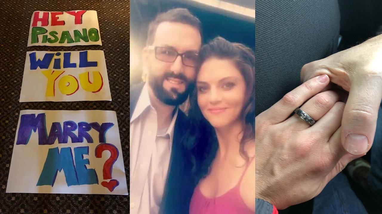 marathon marriage proposal