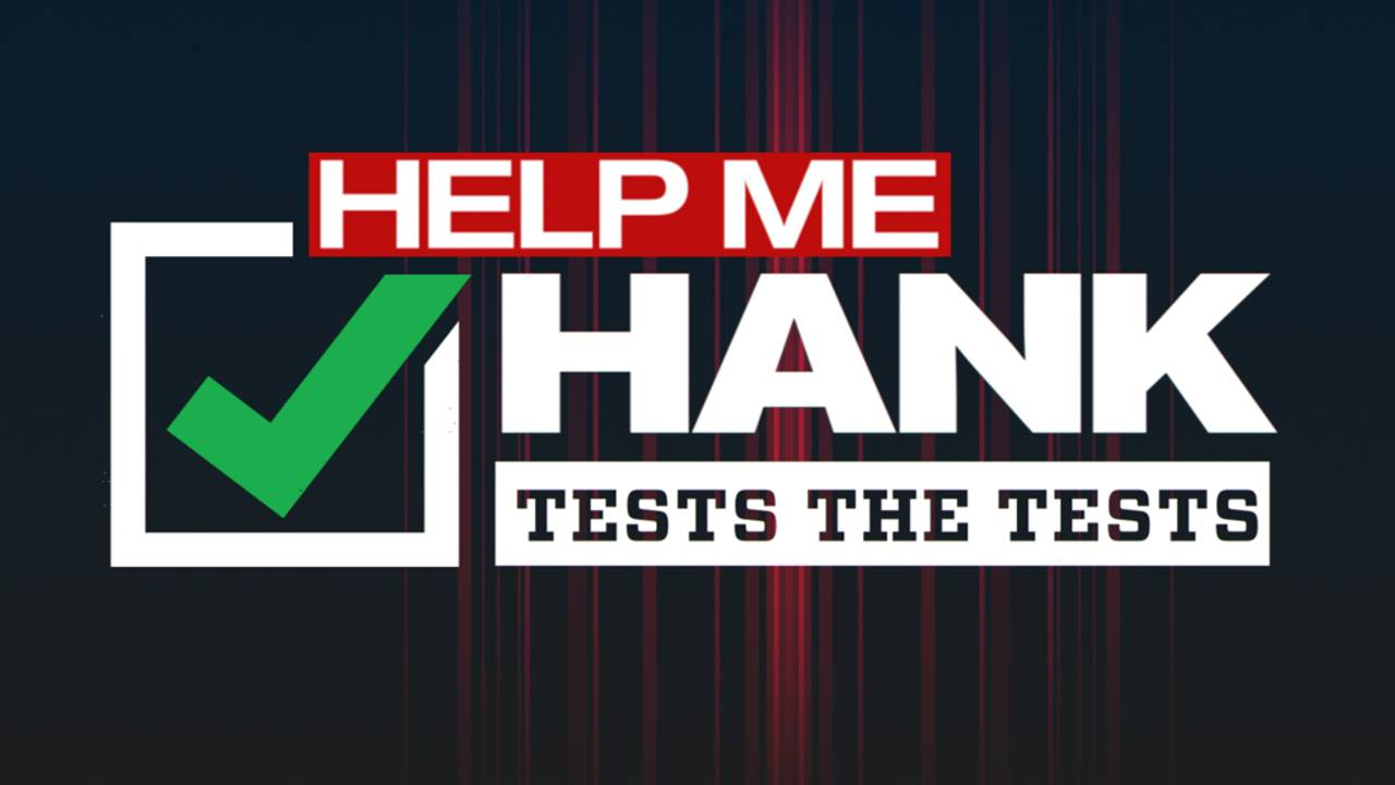 Help Me Hank tests the tests