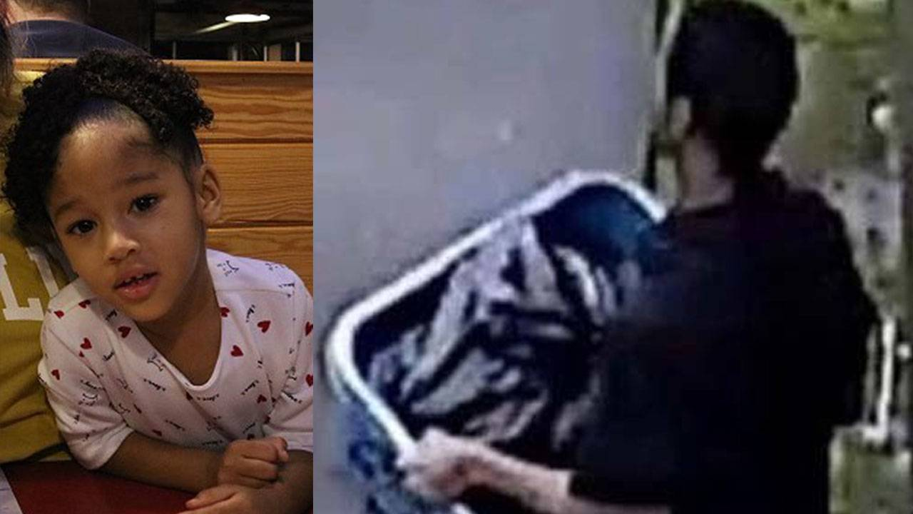 Surveillance of Derion Vence and Maleah Davis side by side