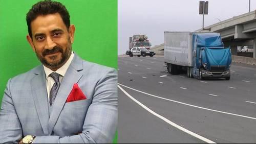 'Cricket World' TV host killed in crash with stalled big rig on 59 Southwest Freeway