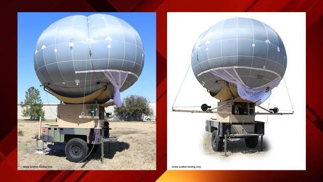 border wall drone balloon still