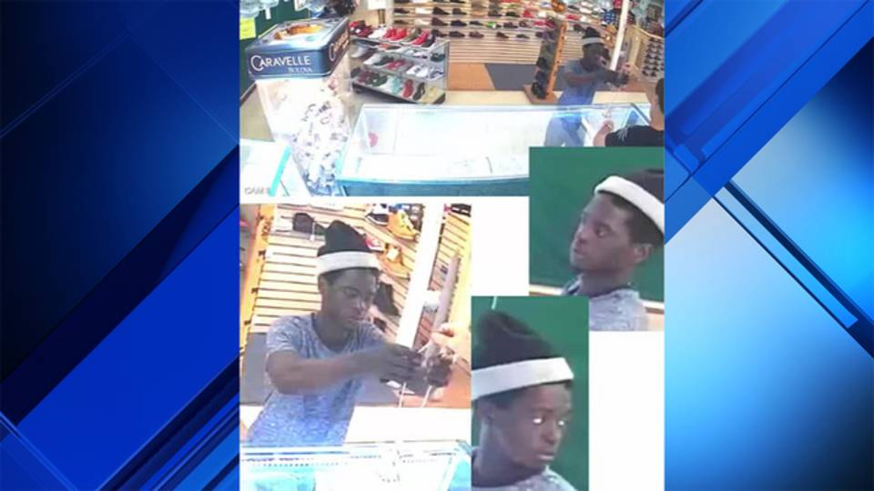 Close-up images of gold chain thief in Oakland Park