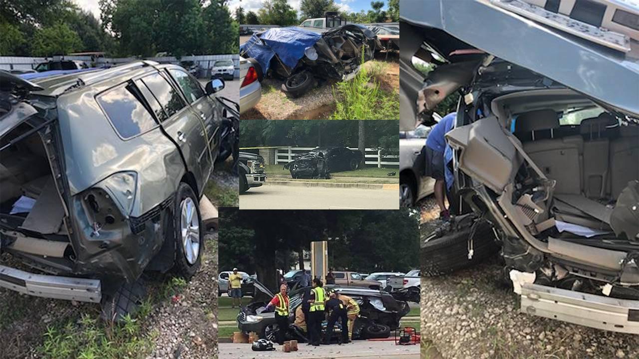 Hit-and-run crash race on telge road 08-04-18