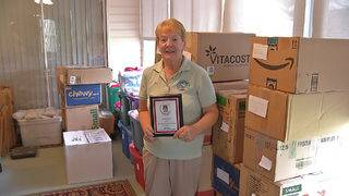 Villages woman turns her lanai into 'pack and ship' to help young cancer&hellip&#x3b;