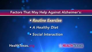 Factors that may help against Alzheimer's