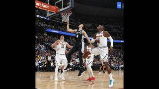 Spurs blow 19-point second half lead, fall to Nuggets in Game 2