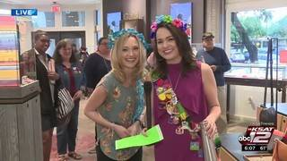 KSAT 12 Weather Authority Fiesta Medal Giveaway with Kaiti & Sarah:&hellip&#x3b;