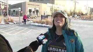 Jaguars fans arriving in New England ahead of AFC Title game