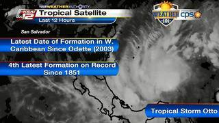 Weather 101: Tropical Storm Otto forms in the Caribbean Sea