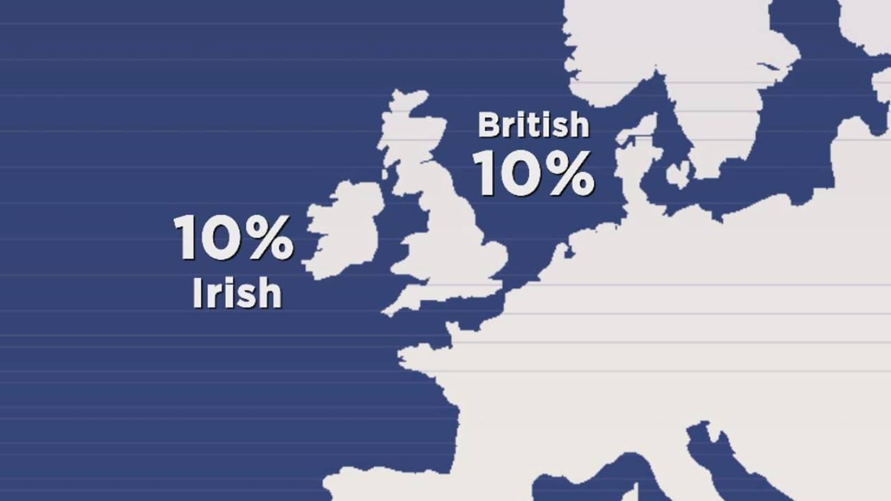 Calvin Hughes British and Irish roots