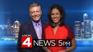 Watch Local 4 News at 5 -- Jan. 22, 2018